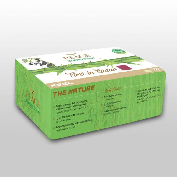 bamboo facial tissues qatar