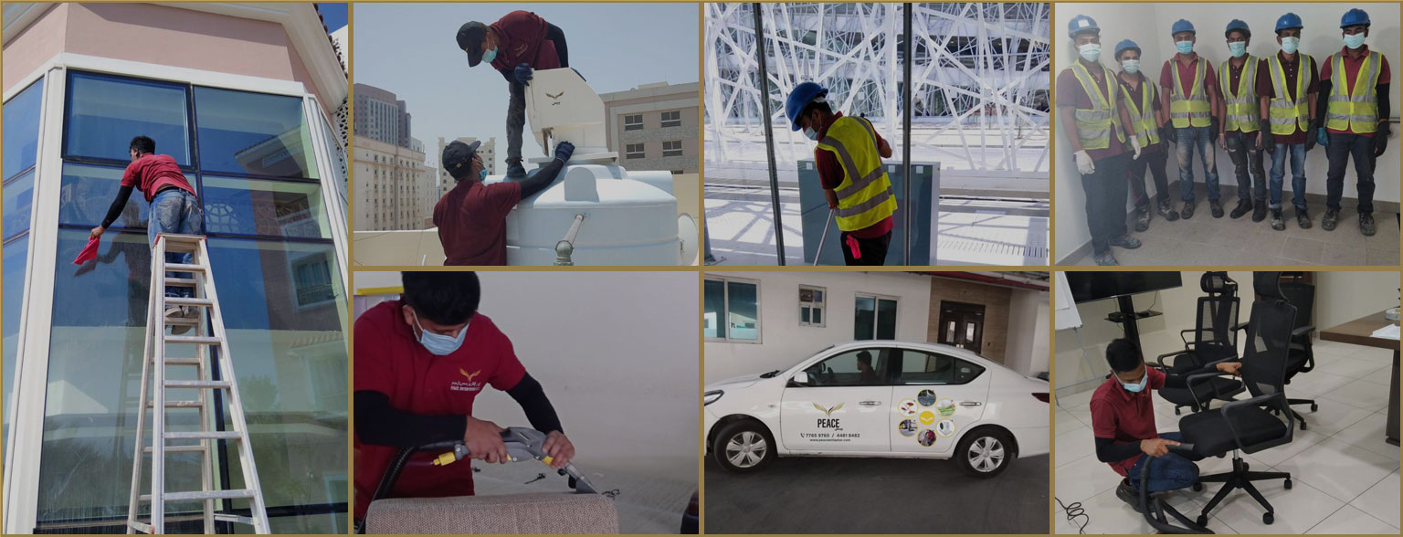 cleaning company doha