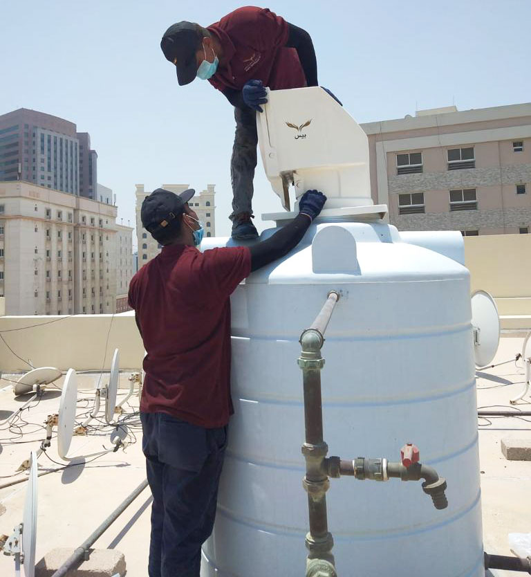 water tank cooling system qatar